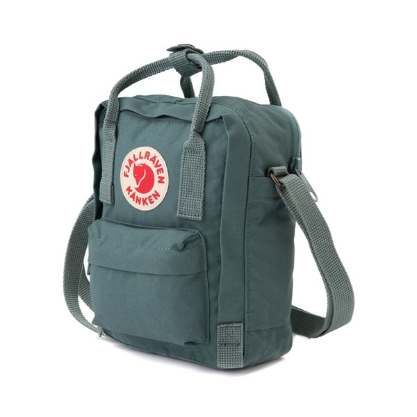 alternate image alternate view Fjallraven Kanken Sling Pack - Frost GreenALT1
