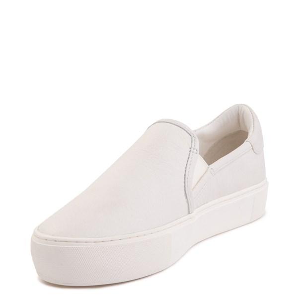 alternate image alternate view Womens UGG® Jass Slip On Casual Shoe - WhiteALT3