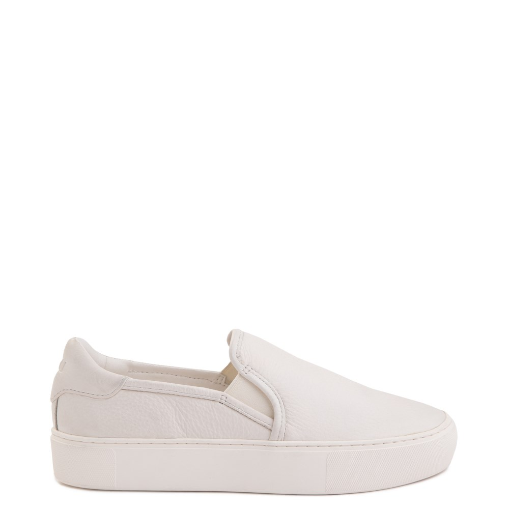 Womens UGG® Jass Slip On Casual Shoe - White