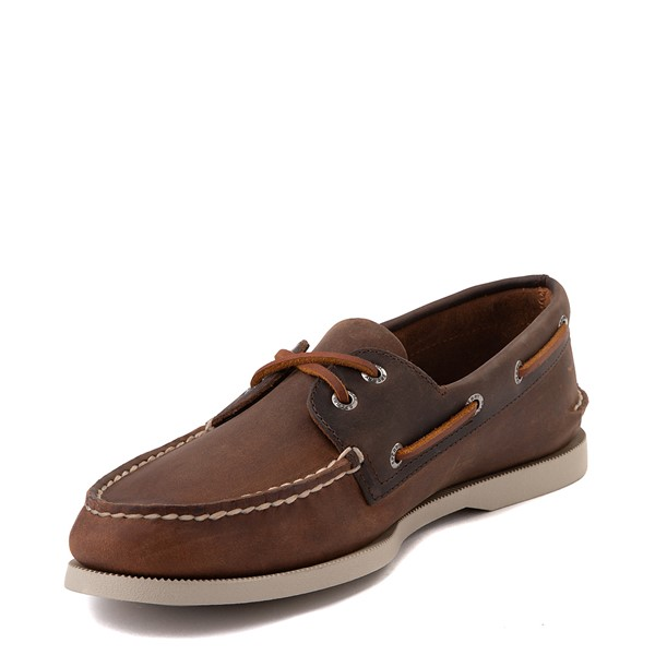 alternate image alternate view Mens Sperry Top-Sider Authentic Original Boat Shoe - BrownALT2