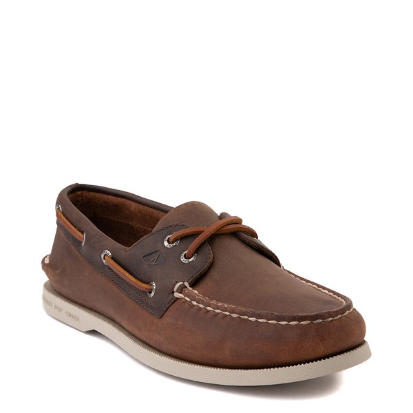 alternate image alternate view Mens Sperry Top-Sider Authentic Original Boat Shoe - BrownALT5