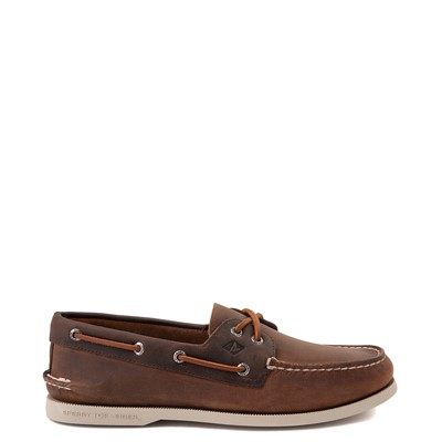 Main view of Mens Sperry Top-Sider Authentic Original Boat Shoe - Brown