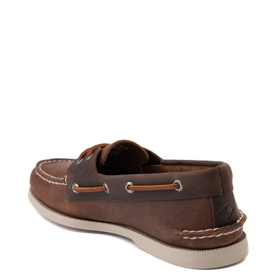 Alternate view of Mens Sperry Top-Sider Authentic Original Boat Shoe - Brown