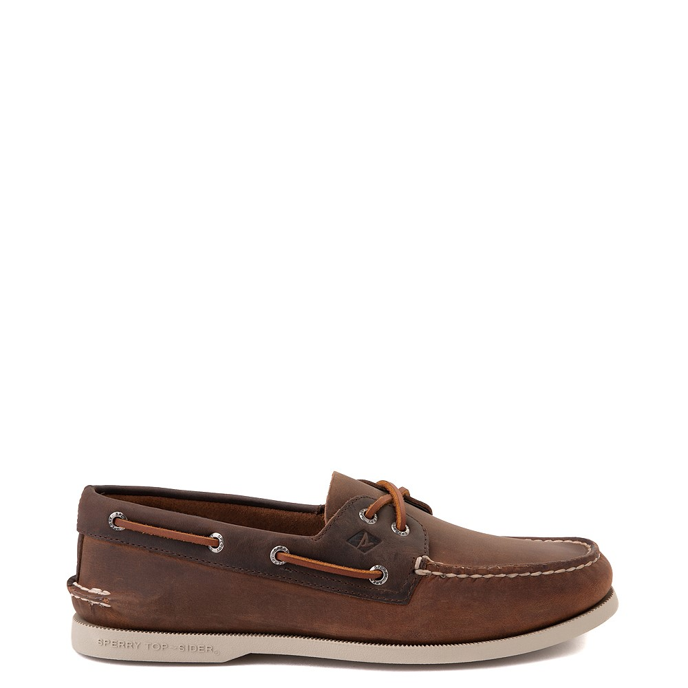 Mens Sperry Top-Sider Authentic Original Boat Shoe - Brown
