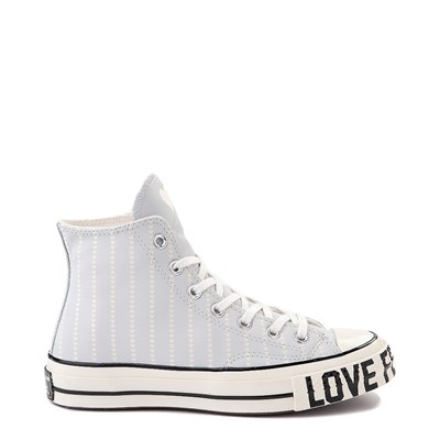 Main view of Womens Converse Chuck 70 Hi Love Fearlessly Sneaker - Photon Dust