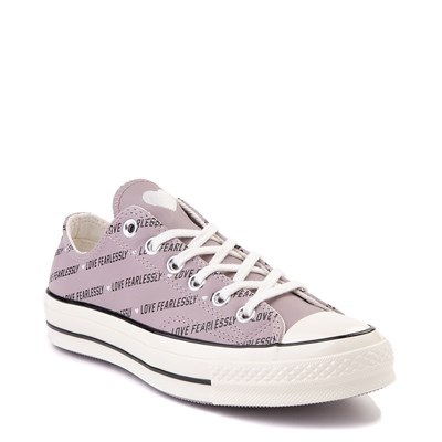 Alternate view of Womens Converse Chuck 70 Lo Love Fearlessly Sneaker - Amethyst Grey