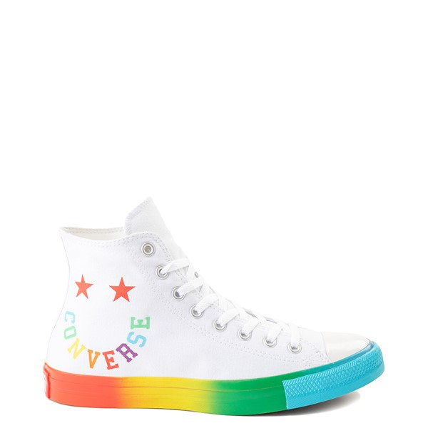 Converse Chuck Taylor All Star Hi Smiley Sneaker - White / Multi