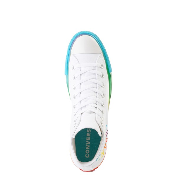 alternate image alternate view Converse Chuck Taylor All Star Hi Smiley Sneaker - White / MultiALT4B