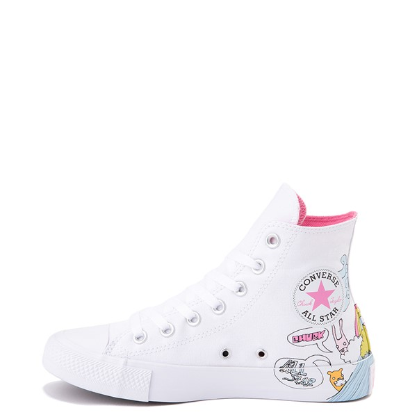 alternate image alternate view Converse Chuck Taylor All Star Hi Notebook Sneaker - WhiteALT1
