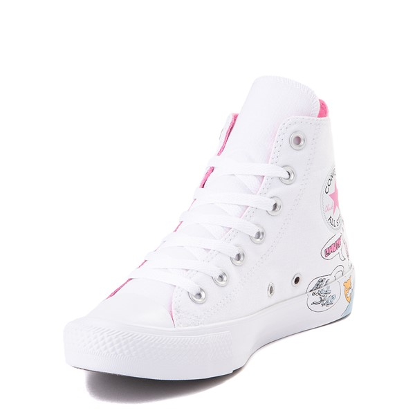alternate image alternate view Converse Chuck Taylor All Star Hi Notebook Sneaker - WhiteALT2