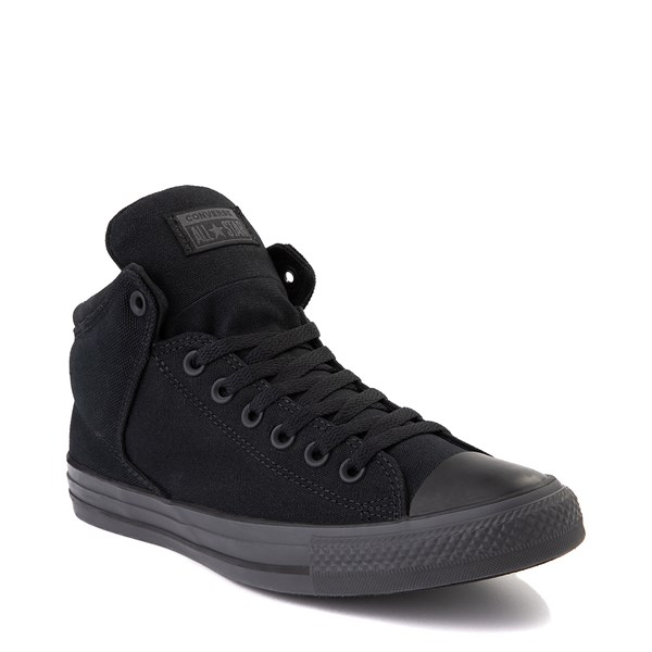 alternate image alternate view Converse Chuck Taylor All Star Street Hi Sneaker - Black / Almost BlackALT1B