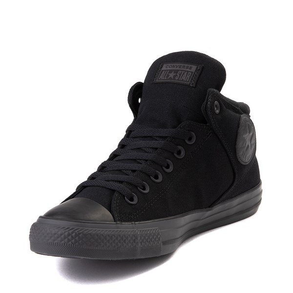 alternate image alternate view Converse Chuck Taylor All Star Street Hi Sneaker - Black / Almost BlackALT3