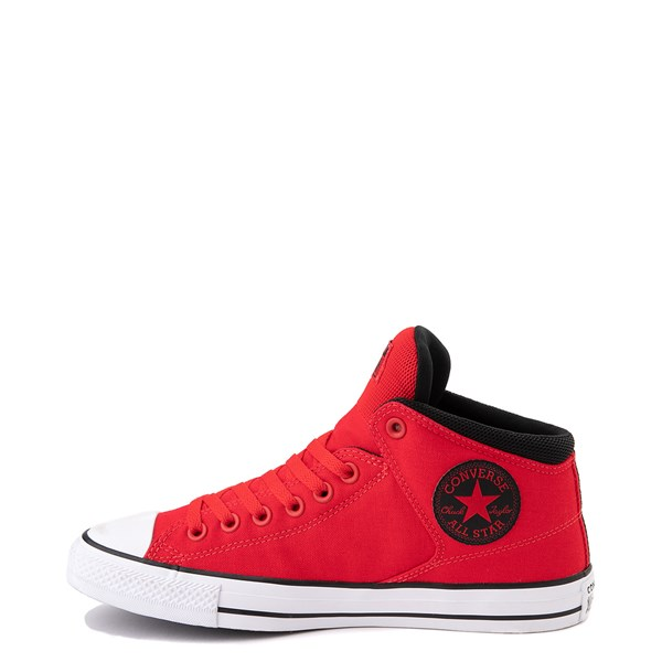 alternate image alternate view Converse Chuck Taylor All Star Street Hi Sneaker - University Red / BlackALT1