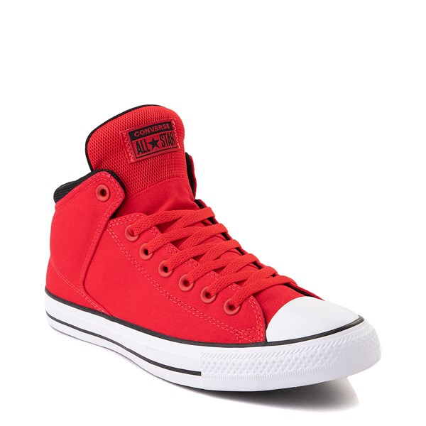 alternate image alternate view Converse Chuck Taylor All Star Street Hi Sneaker - University Red / BlackALT1B
