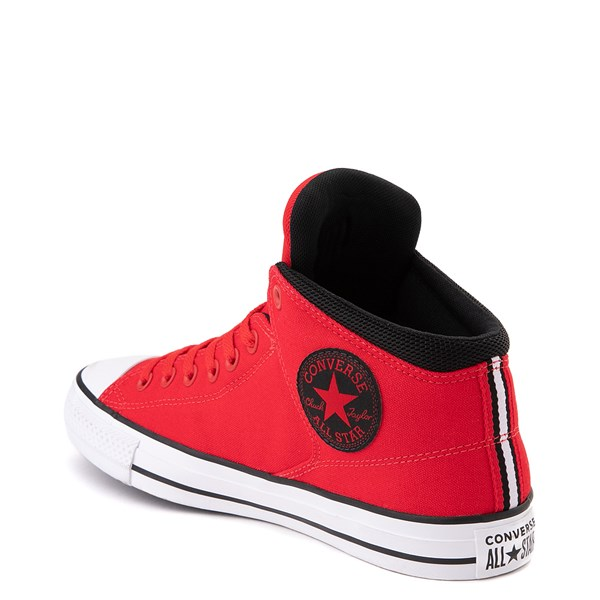 alternate image alternate view Converse Chuck Taylor All Star Street Hi Sneaker - University Red / BlackALT2