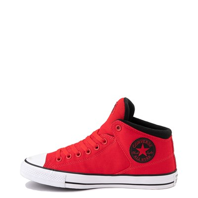 Alternate view of Converse Chuck Taylor All Star Street Hi Sneaker - University Red / Black