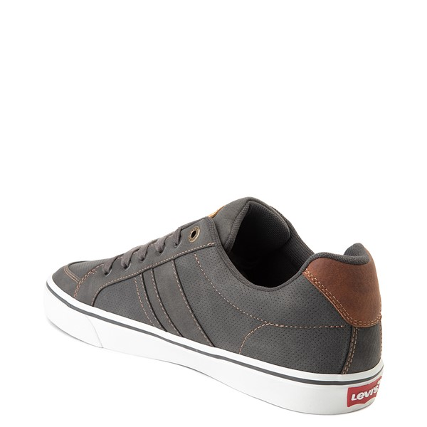 alternate image alternate view Mens Levi's Turner Casual Shoe - CharcoalALT1
