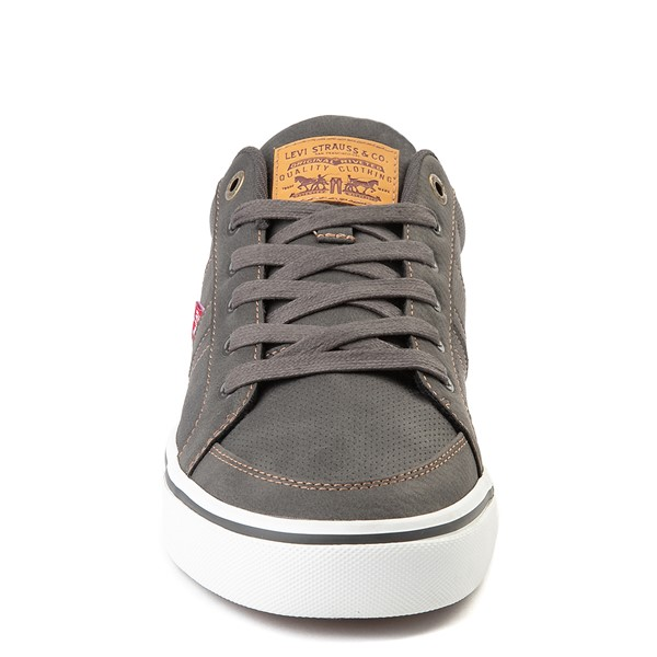 alternate image alternate view Mens Levi's Turner Casual Shoe - CharcoalALT4