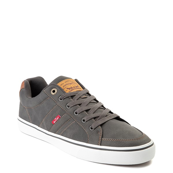 alternate image alternate view Mens Levi's Turner Casual Shoe - CharcoalALT5