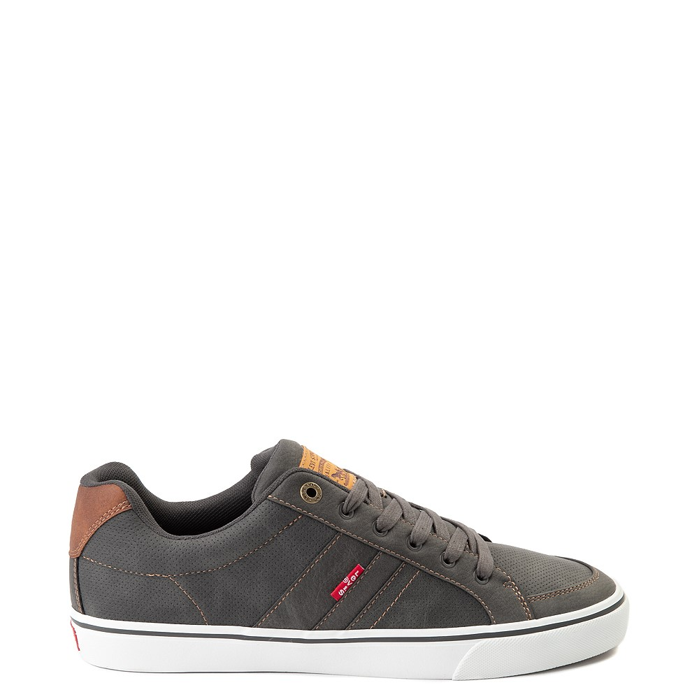 Mens Levi's Turner Casual Shoe - Charcoal