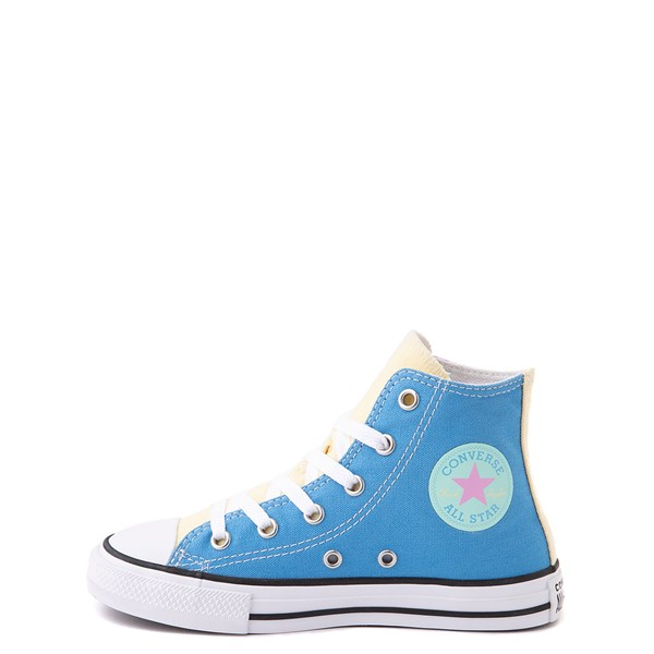 alternate image alternate view Converse Chuck Taylor All Star Hi Color-Block Sneaker - Little Kid - MultiALT1