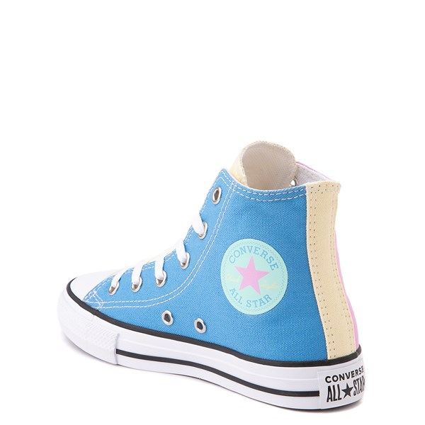 alternate image alternate view Converse Chuck Taylor All Star Hi Color-Block Sneaker - Little Kid - MultiALT2