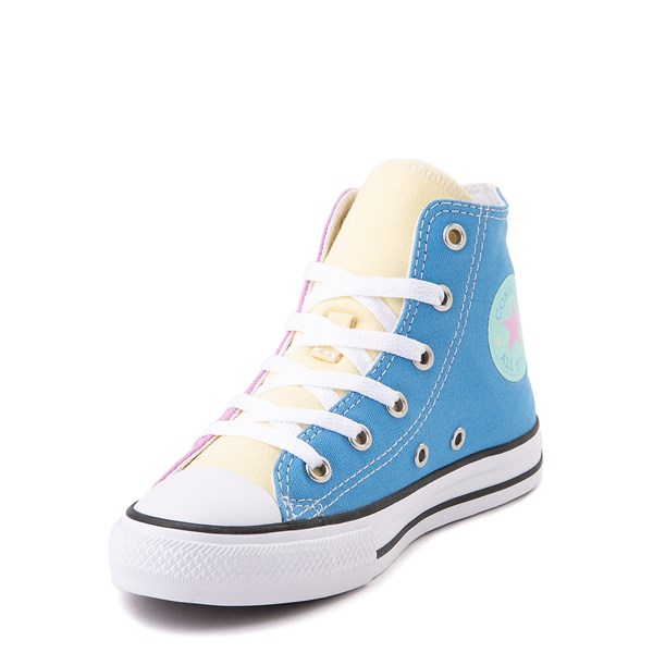 alternate image alternate view Converse Chuck Taylor All Star Hi Color-Block Sneaker - Little Kid - MultiALT3