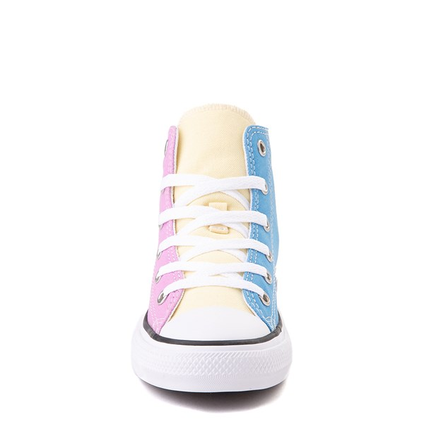 alternate image alternate view Converse Chuck Taylor All Star Hi Color-Block Sneaker - Little Kid - MultiALT4