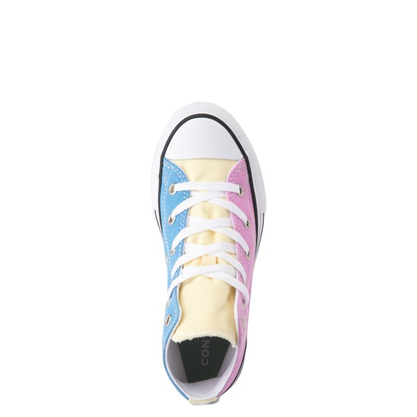 alternate image alternate view Converse Chuck Taylor All Star Hi Color-Block Sneaker - Little Kid - MultiALT4B
