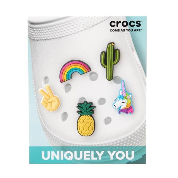 alternate image alternate view Crocs Jibbitz™ Fun Trend Shoe Charms 5 PackALT2