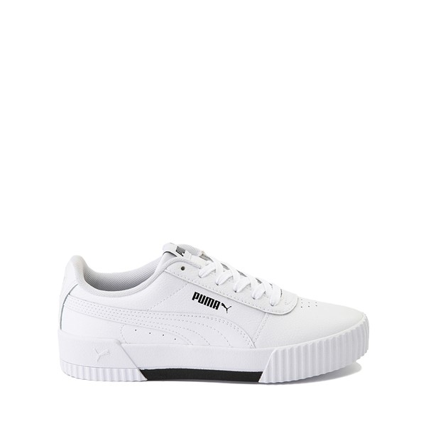 Main view of Puma Carina Athletic Shoe - Big Kid - White