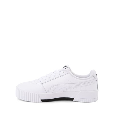 Alternate view of Puma Carina Athletic Shoe - Big Kid - White