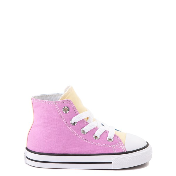Converse Chuck Taylor All Star Hi Color-Block Sneaker - Baby / Toddler - Multi