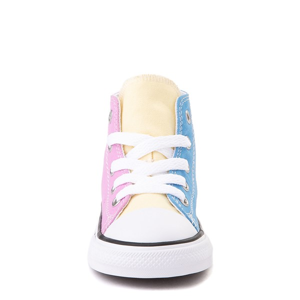 alternate image alternate view Converse Chuck Taylor All Star Hi Color-Block Sneaker - Baby / Toddler - MultiALT4