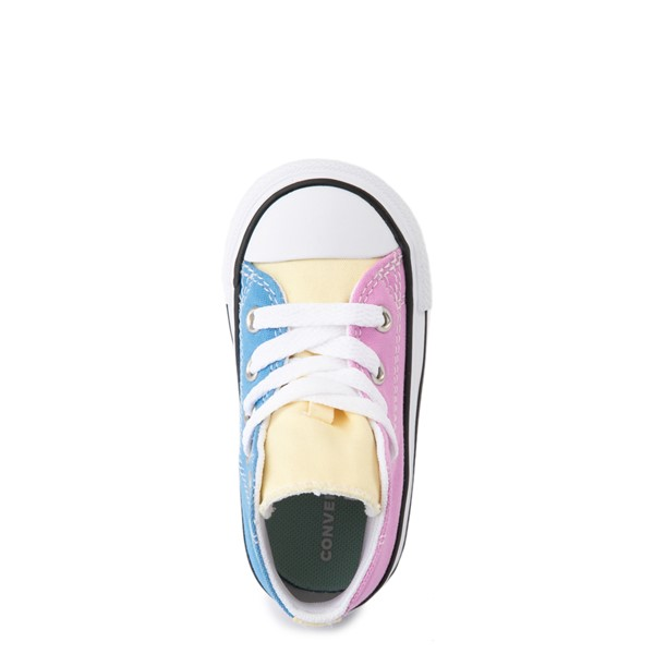 alternate image alternate view Converse Chuck Taylor All Star Hi Color-Block Sneaker - Baby / Toddler - MultiALT4B