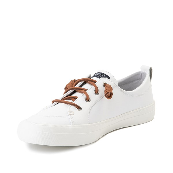 alternate image alternate view Womens Sperry Top-Sider Crest Vibe Leather Casual Shoe - WhiteALT2