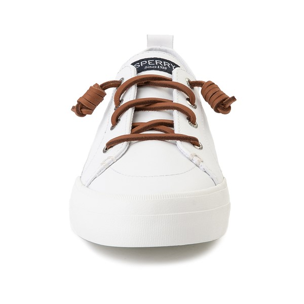 alternate image alternate view Womens Sperry Top-Sider Crest Vibe Leather Casual Shoe - WhiteALT4
