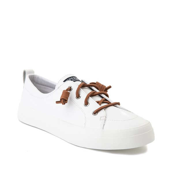 alternate image alternate view Womens Sperry Top-Sider Crest Vibe Leather Casual Shoe - WhiteALT5