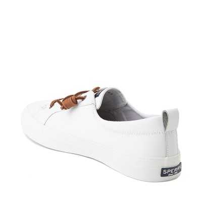 Alternate view of Womens Sperry Top-Sider Crest Vibe Leather Casual Shoe - White