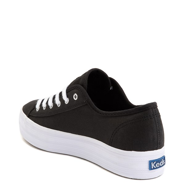 alternate image alternate view Womens Keds Triple Kick Casual Platform Shoe - BlackALT2