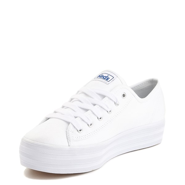 alternate image alternate view Womens Keds Triple Kick Casual Platform Shoe - WhiteALT2