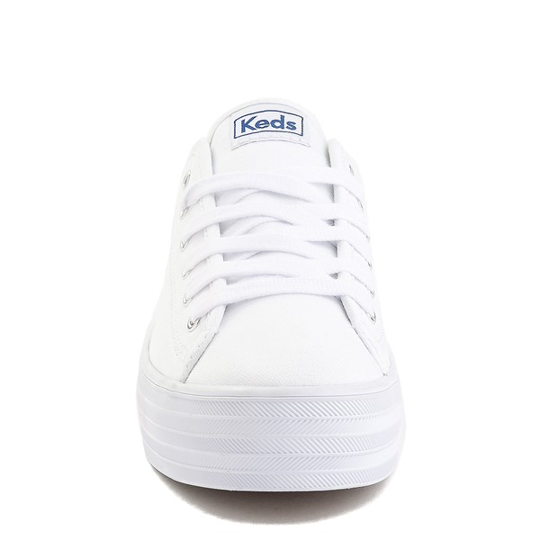 alternate image alternate view Womens Keds Triple Kick Casual Platform Shoe - WhiteALT4