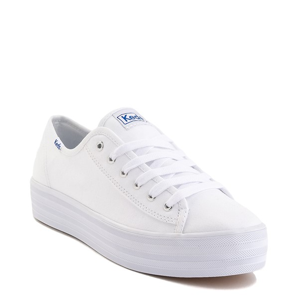 alternate image alternate view Womens Keds Triple Kick Casual Platform Shoe - WhiteALT5