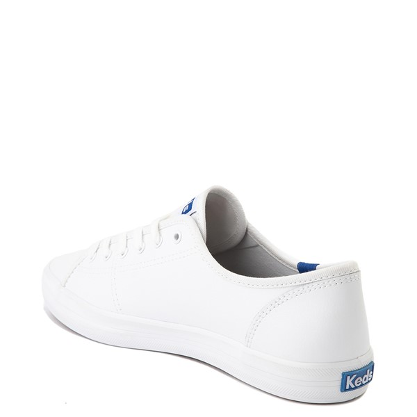 alternate image alternate view Womens Keds Kickstart Leather Casual Shoe - WhiteALT1