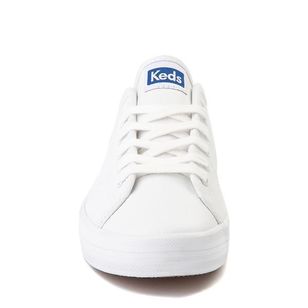 alternate image alternate view Womens Keds Kickstart Leather Casual Shoe - WhiteALT4