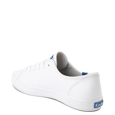 Alternate view of Womens Keds Kickstart Leather Casual Shoe - White