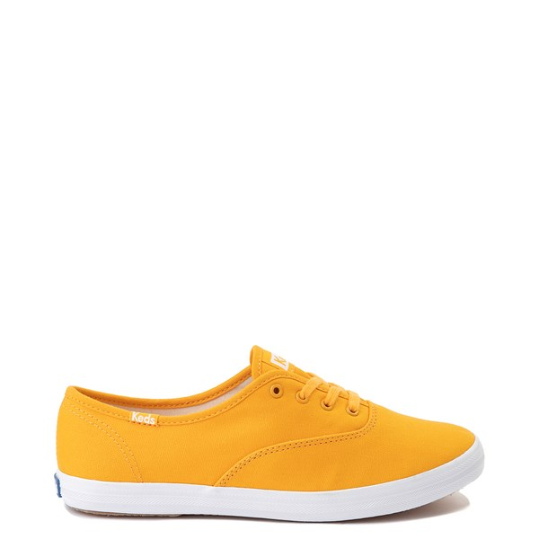 Womens Keds Champion Original Casual Shoe - Yellow