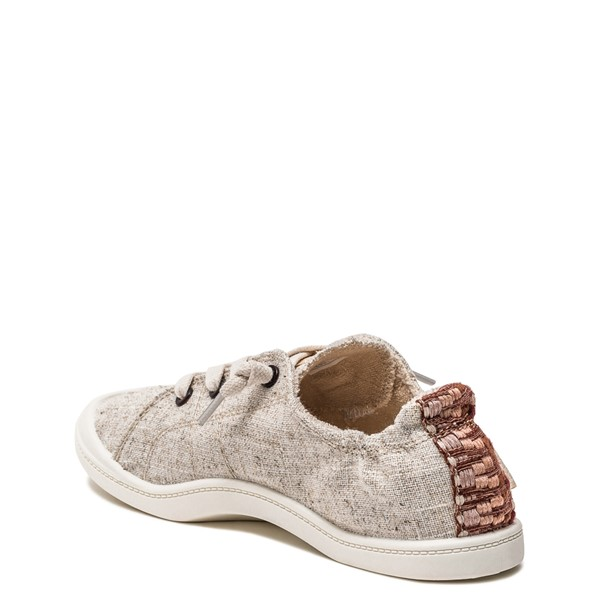 alternate image alternate view Womens Roxy Bayshore Casual Shoe - NaturalALT1