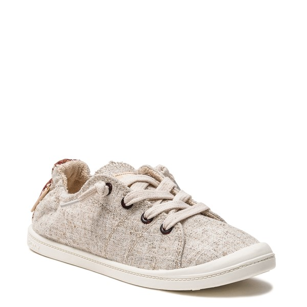 alternate image alternate view Womens Roxy Bayshore Casual Shoe - NaturalALT5