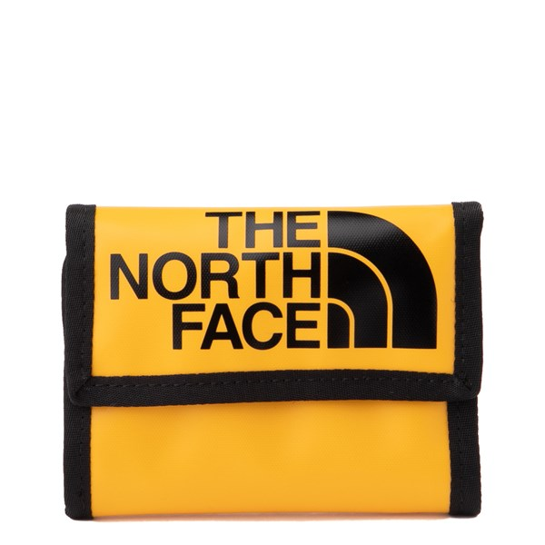 Main view of The North Face Base Camp Tri-Fold Wallet - Yellow